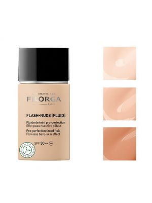 Filorga Flash-Nude Fluid: Pro-Protection Tinted Fluid 00 Ivory (1 x 30ml)